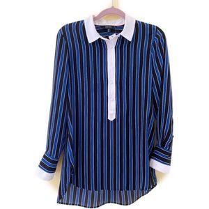2/$20 🛍️ IMNYC Striped Blouse - Small